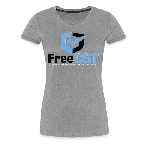 FreeCST KC04a A00a 02 shirt white png - Women's Premium T-Shirt