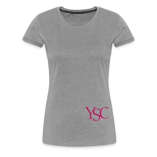 ysc initials - Women's Premium T-Shirt