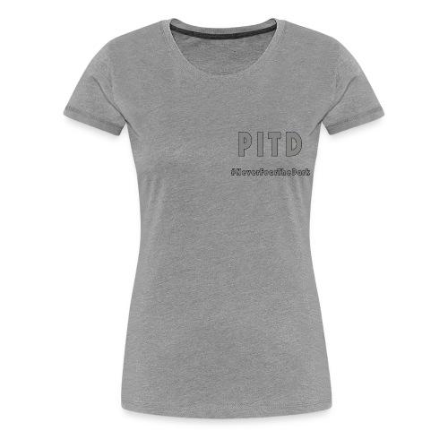 Patriot In The Dark G2 Logo & Hashtag - Women's Premium T-Shirt