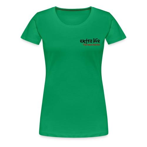 Extra Life Logo - Women's Premium T-Shirt