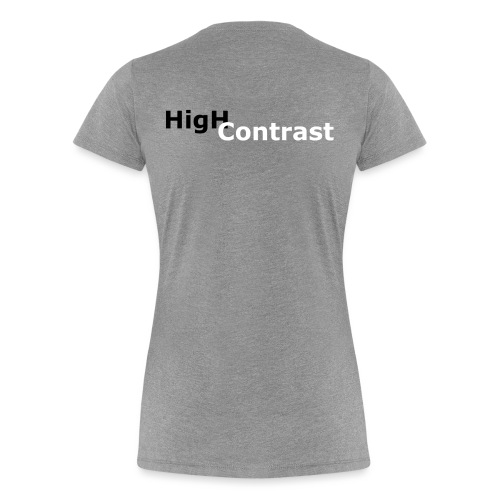 High Contrast - Women's Premium T-Shirt