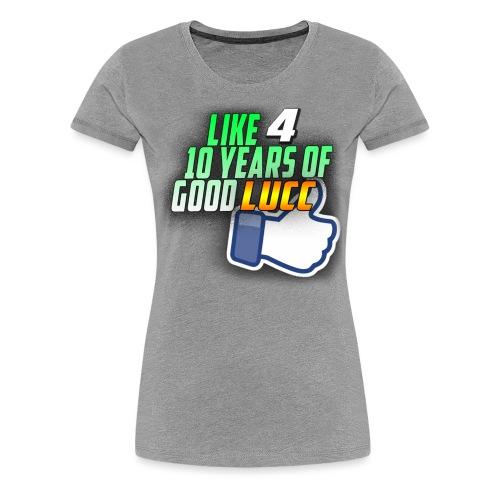 lucc3 png - Women's Premium T-Shirt