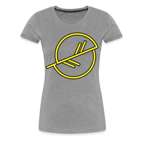 Warrior-yellow - Women's Premium T-Shirt