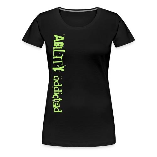 agility addicted - Women's Premium T-Shirt