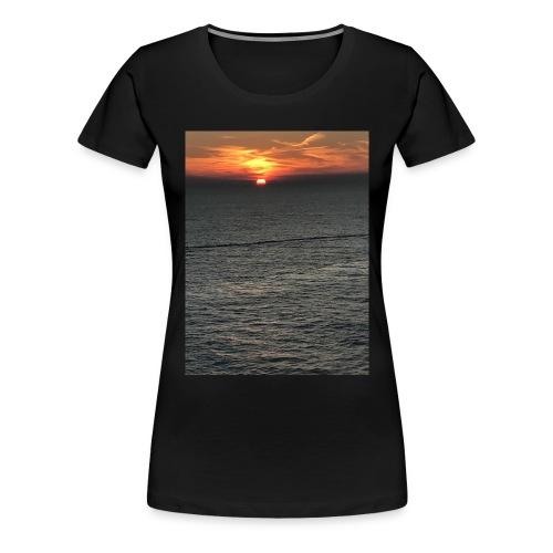 Cozumel Sunset - Women's Premium T-Shirt