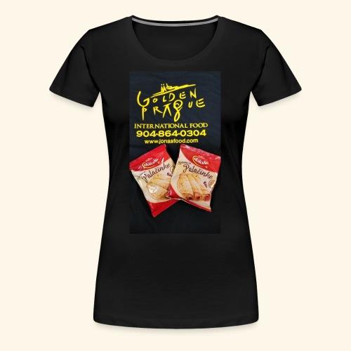 Golden Prague - Women's Premium T-Shirt