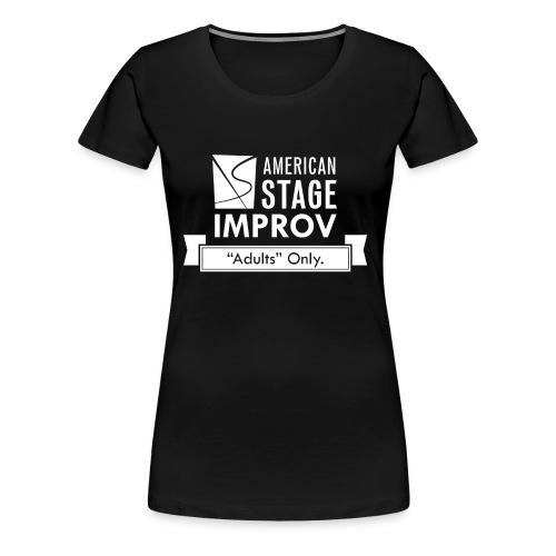 American Stage Improv Logo - Women's Premium T-Shirt