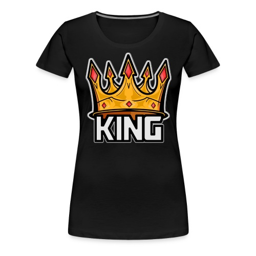 The Great Hero King - Women's Premium T-Shirt