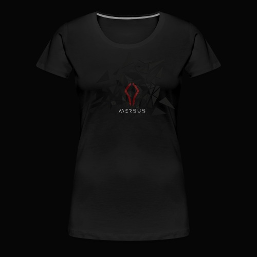 Aversus - Logo + Name - Women's Premium T-Shirt