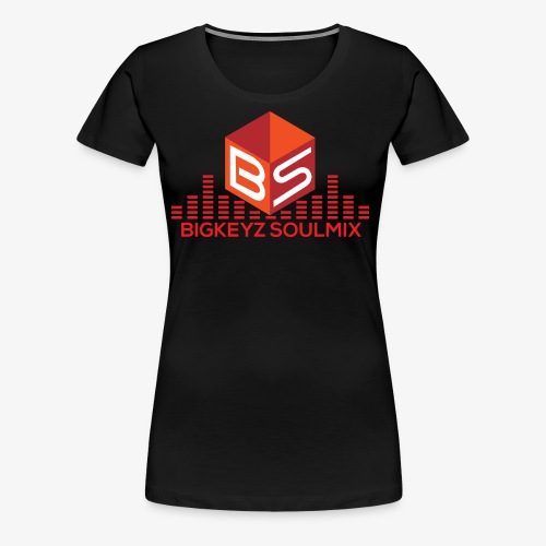 RETRO RED BigKeyz SoulMix - Women's Premium T-Shirt