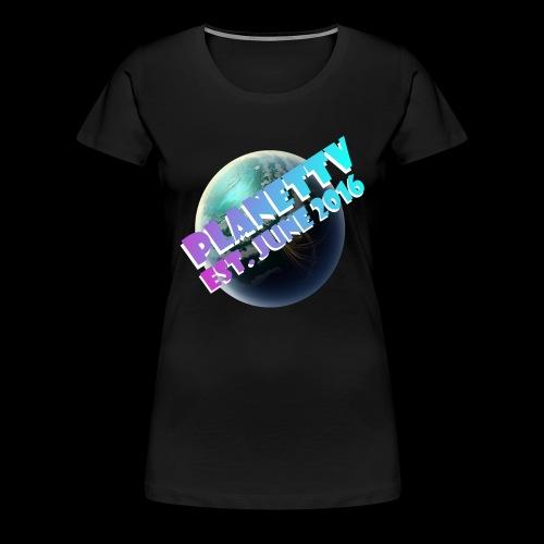 PlanetTV - Women's Premium T-Shirt