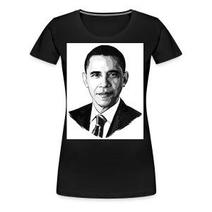 Cool Obama T-shirt - Women's Premium T-Shirt
