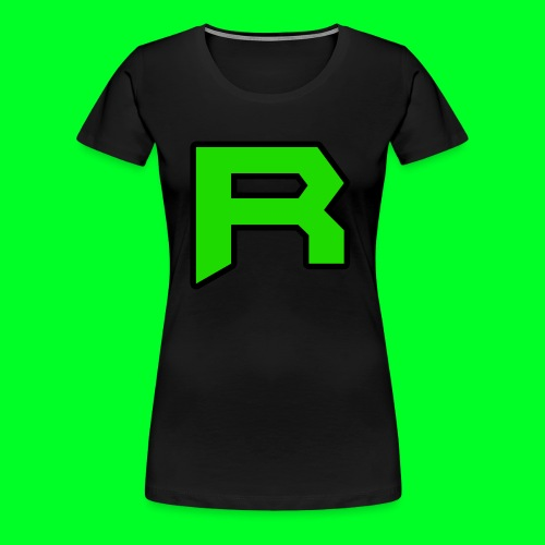 Retro ItsRusher Logo - Women's Premium T-Shirt