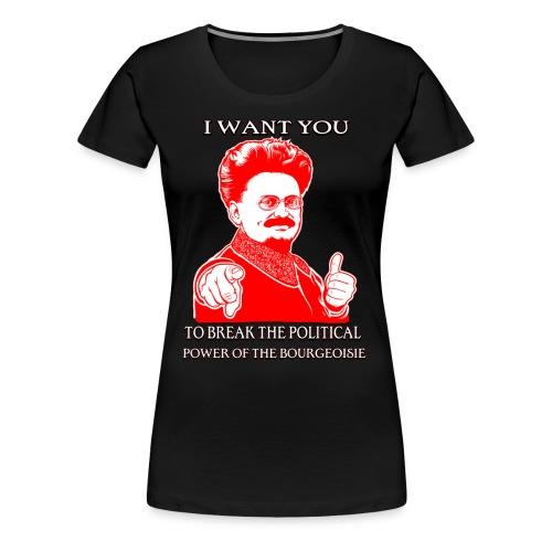 I want you... - Women's Premium T-Shirt