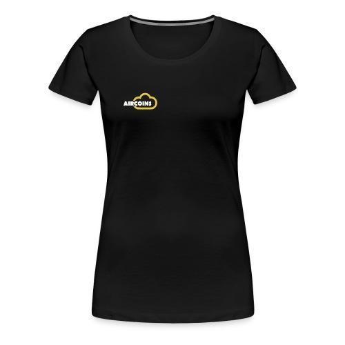 Aircoin Company Logo - Women's Premium T-Shirt