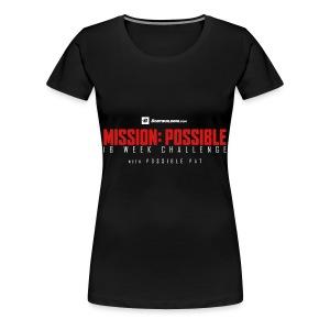mission possible logo dark - Women's Premium T-Shirt