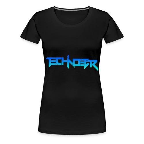 Blue Technostar Logo Apparel - Women's Premium T-Shirt