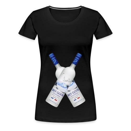 Vodka_kryds - Women's Premium T-Shirt