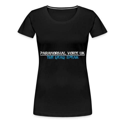 PARANORMAL VOICE UK +SIZE HOODY - Women's Premium T-Shirt