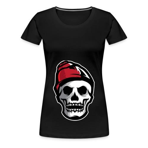 Custom Skull With Ice Cap Merch! - Women's Premium T-Shirt