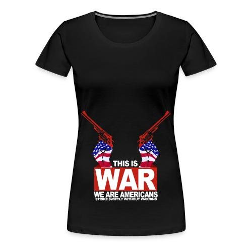 War USA - Women's Premium T-Shirt