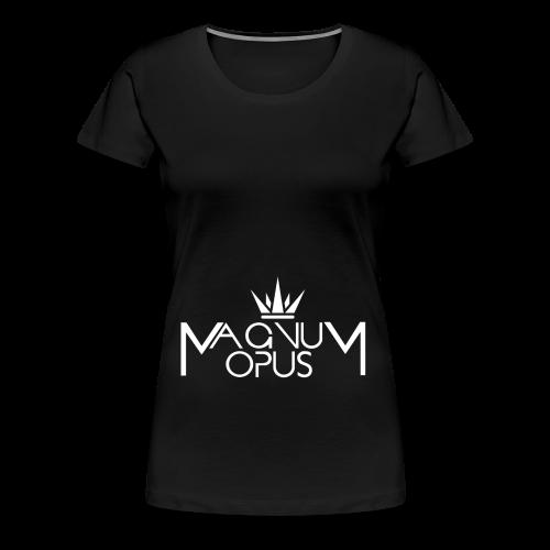MOCC Magnum Opus WHT - Women's Premium T-Shirt