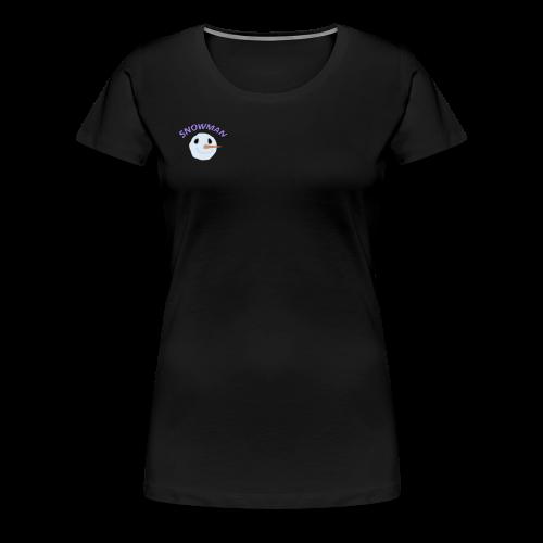 Snowy Boi - Women's Premium T-Shirt