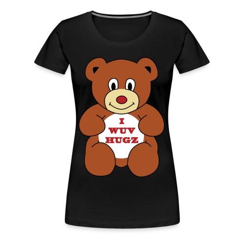 I Wuv Hugs shirt - Women's Premium T-Shirt