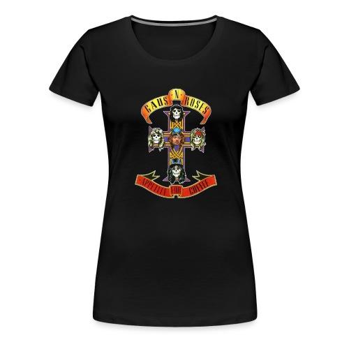 Gaus N Roses - Women's Premium T-Shirt