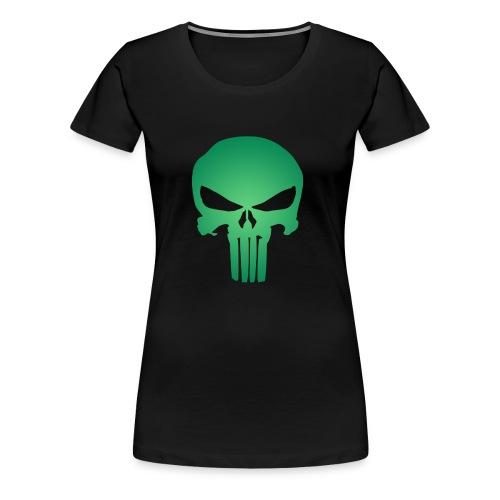 punisher skull - Women's Premium T-Shirt