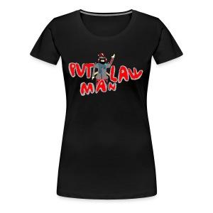 OLD PVTLawman Logo - Women's Premium T-Shirt