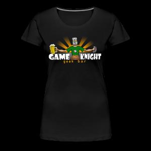 Game Knight Geek Bar Logo - Women's Premium T-Shirt