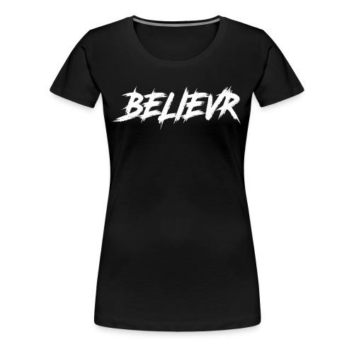 BelievR1 - Women's Premium T-Shirt