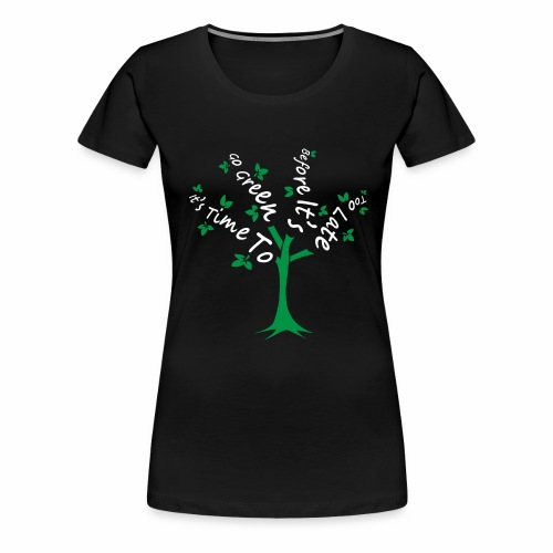 Green Tree - Women's Premium T-Shirt