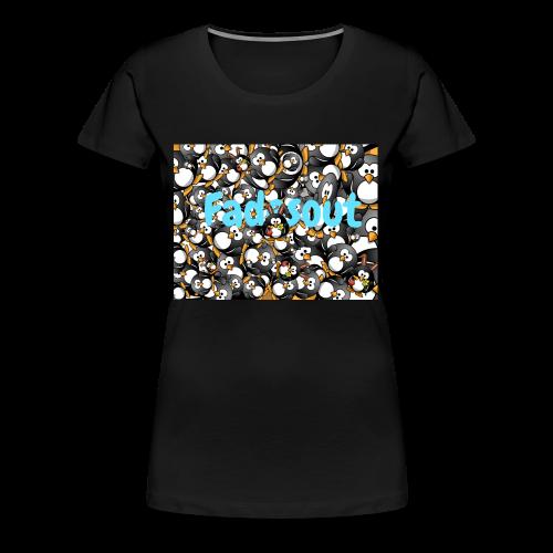 fadesout - Women's Premium T-Shirt