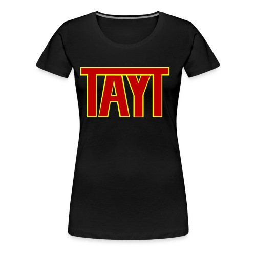 tayt logo - Women's Premium T-Shirt