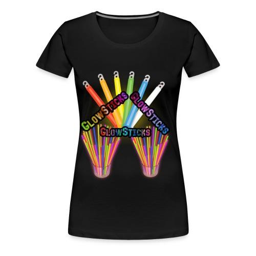 GlowSticks..GlowSticks GlowSticks - Women's Premium T-Shirt