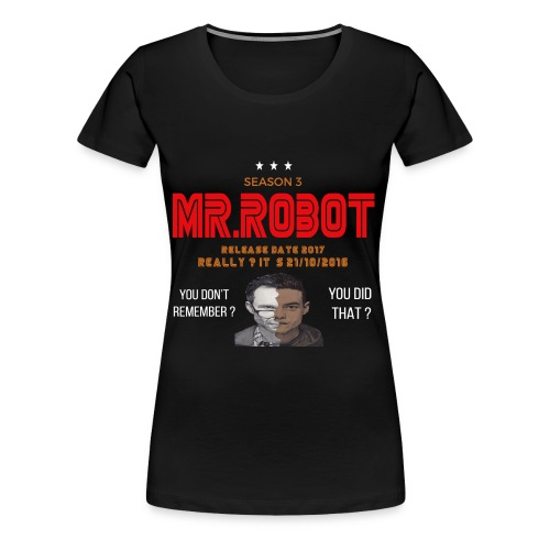 Mr ROBOT - Women's Premium T-Shirt