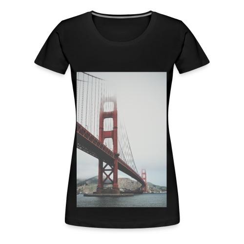 Golden Gate Bridge - Women's Premium T-Shirt