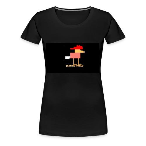 Juan El Pollo - Women's Premium T-Shirt