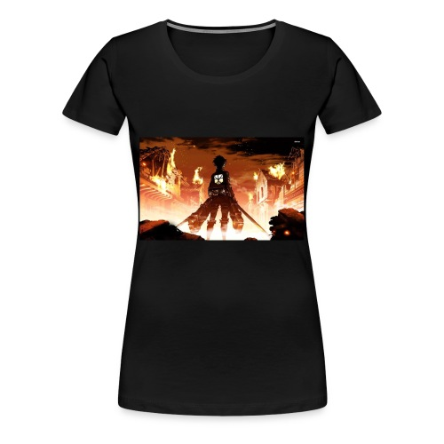 Attack of the titan - Women's Premium T-Shirt