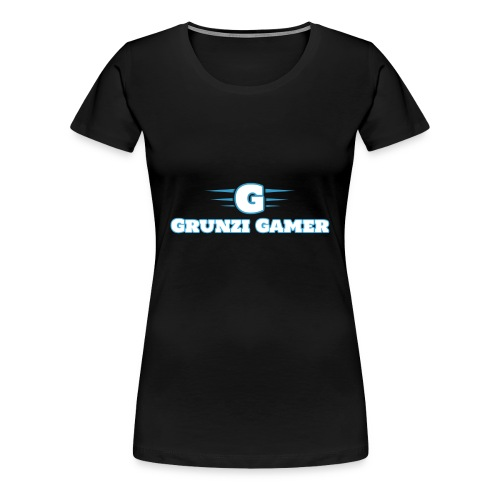 logo and channel name - Women's Premium T-Shirt