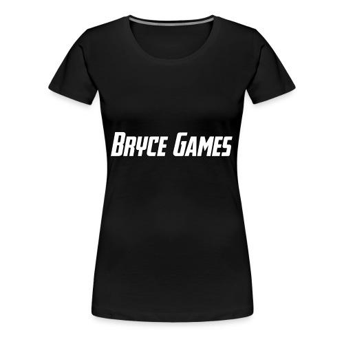 Bryce Games - Women's Premium T-Shirt
