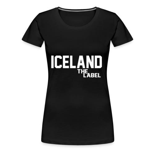 iceland_the_label_printable - Women's Premium T-Shirt