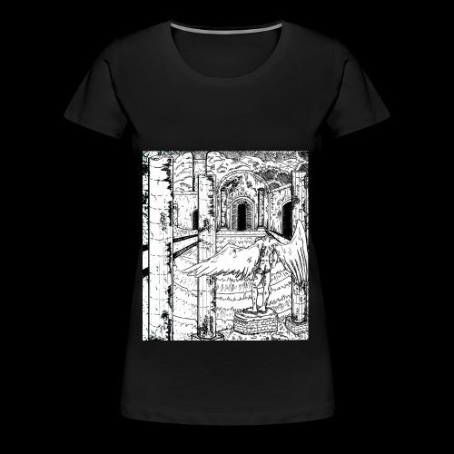 Ninth Column Prologue Design - Women's Premium T-Shirt