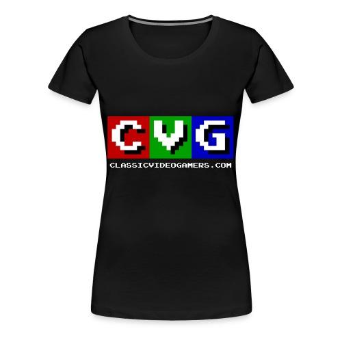 CVG Logo - Women's Premium T-Shirt