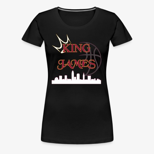 king james - Women's Premium T-Shirt