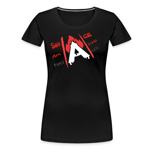 A-Game logo - Women's Premium T-Shirt
