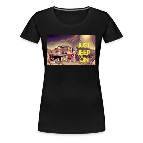 Jeepon1 - Women's Premium T-Shirt