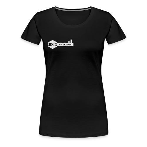 Jesus Freedom - Women's Premium T-Shirt
